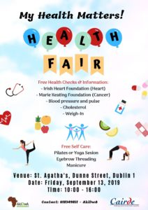 Health Fair in Dublin